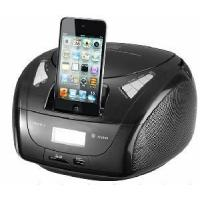 Buy cheap CD Boombox with iPhone Docking/FM Pll Radio/Aux-in product