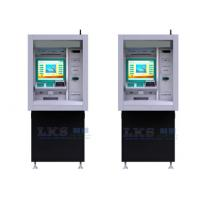 Buy cheap Through - Wall Payment Terminal Kiosk With Check Cashing ATM Machines from wholesalers