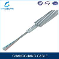 Buy cheap single mode aerial opgw 24 core fiber optic power cable prices from wholesalers