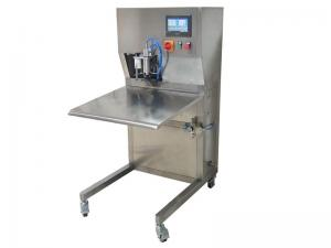 Buy cheap Semi Automatic 30L Aseptic BIB Filling Machine For Beer product