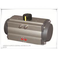 Aluminum Material Rack And Pinion Pneumatic Actuator AT-DA63 For Industrial