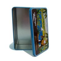 Buy cheap A6 postcard collection tin box product