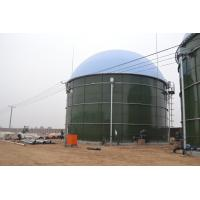 Buy cheap Anaerobic Digester Glass Lined To Steel Construction Tanks In Biogas / Wastewater Treatment product