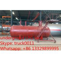 Buy cheap 40 metric tons buried lpg gas tanker for export, hot sale 100,000L ASME standard underground lpg gas propane tank from wholesalers