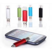 Buy cheap Hot Selling Eletronics Gifts Protable Promotional Gift Mobile Phone OTG USB Flash Drives from wholesalers
