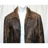 Buy cheap S M L XL XXL XLL fashion Thick Cow hide Leather Jacket Fleece in Collar  product