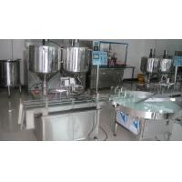 Buy cheap 1L Double Nozzles Full Automatic Ointment Filling Machine, Cosmetic Packaging Equipment from wholesalers