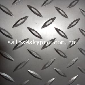 Buy cheap Fireproof dot pattern Plastic Sheet grey PVC mat durable matt floor covering car floor mat product