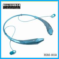 Buy cheap New HBS-902 Stereo Bluetooth headphone With mic Unique wireless sports neckband Headset from wholesalers