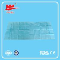 Buy cheap Non Woven Disposable Bed Sheet - Single Bed from wholesalers