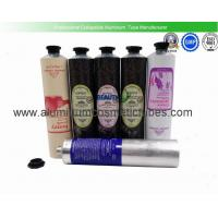 Buy cheap Hand Cream Collapsible Aluminum Squeeze Tubes Food Grade Inner Coating Light Weight from wholesalers
