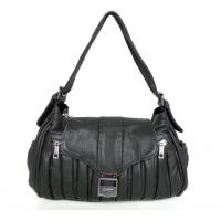 Buy cheap Women Style Dark Gray Leather Handcrafted Shoulder Bag Handbag #2216 from wholesalers