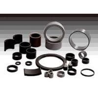 Buy cheap Through thickness Magnetized direction Black epoxy resin Coating Bonded NdFeB Magnets from wholesalers