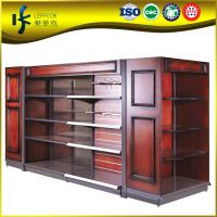 Buy cheap Luxury Solid wooden clothes display racks ,supermarket garment display shelf from wholesalers