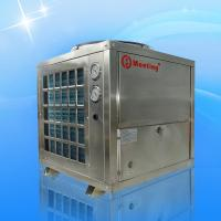 Stainless steel air source heat pump heating water for Most efficient heat source for home