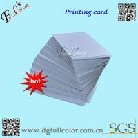 Buy cheap Custom Office Print PVC ID Card Blank PVC Cards  86 * 54  Inkjet Printable PVC Card With Free Sample from wholesalers