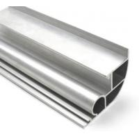 Buy cheap Silvery Anodized  6061 Aluminum Profile Aluminum Extrusion Profile With Drilling / Cutting from wholesalers