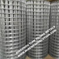 Buy cheap 2 X 2 Galvanized Welded Wire Mesh Sheets Anti - Corrosion For Garden Decorative from wholesalers