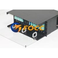 Buy cheap 4U Fiber Optic MPO MTP Metal Cassettes Pannel Terminated OM3 Cable Application from wholesalers
