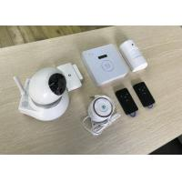 Buy cheap Home Burglar GSM Alarm System With Wireless Detector 433Mhz Rechargeable Battery from wholesalers
