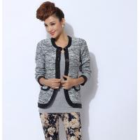 Buy cheap Anti-wrinkle Womens Wool Sweaters Cardigan Short Knit for winter from wholesalers