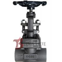 Buy cheap Metal Seat Forged Steel Globe Valve Handwheel Operated J11H CL800 SW / NPT from wholesalers
