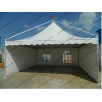 Buy cheap PVC Fabric Gazebo High Peak Tents 6 x 6m Aluminun Frame With Soft PVC Windows from wholesalers