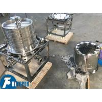 Buy cheap Stainless Steel Sealed Type Plate And Frame Filter 2.5m2 Filter Area 14t/H Water Flow product