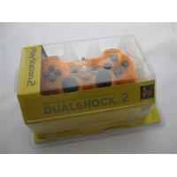 Buy cheap Wired Controller Joypad Dualshock 2 Transparent Orange for Sony PS2:HP20041 product