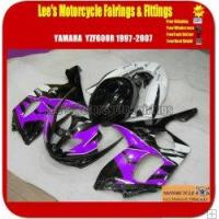 Buy cheap Yamaha Yzf600r Thundercat 1997-2007 Black and Purple Sport Motorcycle Fairings from wholesalers