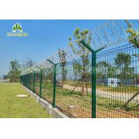 Buy cheap Pre Galvanized Welded Wire FenceWeather Proof For Shipping Port Security from wholesalers