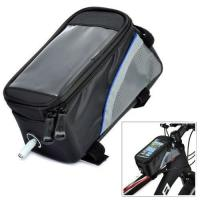Buy cheap Polyester Zippered Tool Bag Reflective Strip / PVC Window Pouch For Bicycle from wholesalers