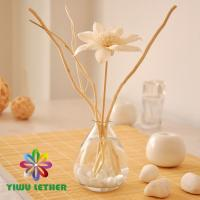 Buy cheap Elegant Home Air Freshener Reed Diffuser with Ricepaper Flower Sallow Cobblestone Gift Set from wholesalers