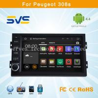 Buy cheap Android 4.4 car dvd player GPS navigation for Peugeot 308S with BT TV USB Ipod car radio product