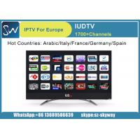 Buy cheap IUDTV IPTV Subscription 1 Year Arabic French Germany Italy UK Sweden Albania USA Channels total 1700 HD Channels from wholesalers