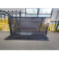 Buy cheap Foldable Outdoor Crowd Control Barriers Lightweight High Security Easy Install product