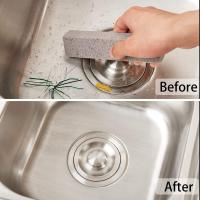Buy cheap Pumice Stones for Cleaning Scouring Pad Grey Pumice Stick Cleaner for Removing Toilet Bowl Ring Bath Household from wholesalers