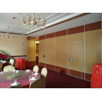 China Hot Selling Fabric Leather Sliding Folding Movable Partition Wall MDF Panel Color Customizable on sale