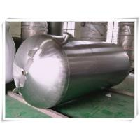 Buy cheap Customized Color Horizontal Air Receiver Tanks Carbon Steel / Stainless Steel from wholesalers