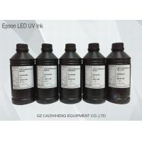 Buy cheap Original Flexible Soft LED UV Ink Vibrant With Epson DX4 DX5 DX7 Printhead from wholesalers