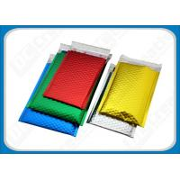 Buy cheap Colored Aluminum Foil Bubble Mailer Envelope Glamour Metallic Bubble Mailers Bags from wholesalers