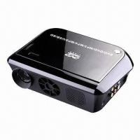 Buy cheap Projectors, connect with laptop and computer with 24,000 lumens HDMI VGA DVD player TV tuner games  from wholesalers