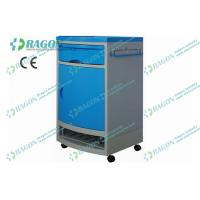Buy cheap Luxurious ABS Hospital Furnitures , Medical Bedside Locker Cabinet with Four Wheels from wholesalers