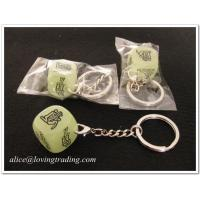 Buy cheap Sexy dice key chain, suitable for adult games,custom logo dice key chain  from wholesalers