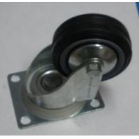Buy cheap Black Rubber Swivel Industrial Caster Wheel with Brake from wholesalers