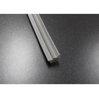 Buy cheap Gray Long Side EPDM Rubber Extrusion Embedded , Window Weather Stripping from wholesalers