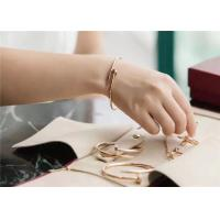 Buy cheap Simple Design Cartier Jewelry / Juste Un Clou Bracelet Small Model from wholesalers