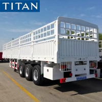 Buy cheap 40ft Dry Cargo Flatbed Semi Trailer Equipment with Side Walls from wholesalers