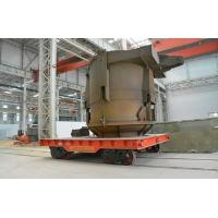 Buy cheap Rail Guided Motorized Transfer Cart With Cable Winder VFD Speed Adjustment from wholesalers