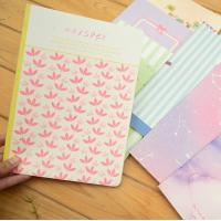 Buy cheap High quality paper student's stitching CMYK full colorful cover with lamination exercise from wholesalers